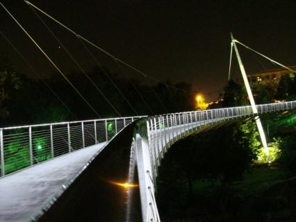 The Liberty Bridge in Downtown Greenville, SC. Photo by Alex.