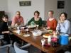 Homemade bulgogi, pizza, cheesecake, and happy TESOL course graduates - Spring 2012