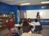 Monica teaching her practicum at the Sullivan Center - 2009